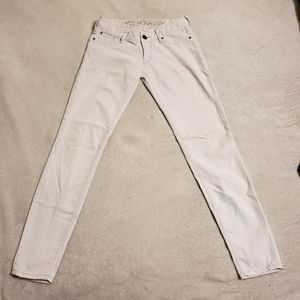 White Jeans Express Zelda Low Rise Skinny 2